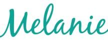Unterschrift Melanie vom Yogablog Ganzwunderbar
