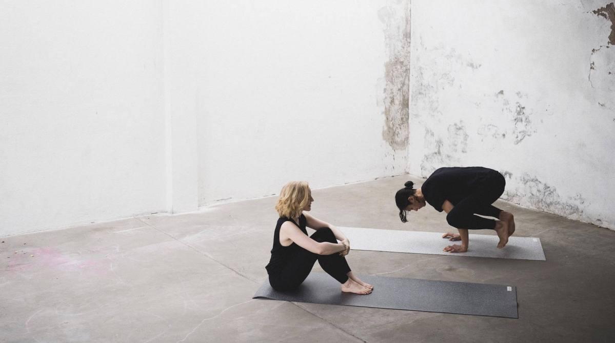 recycelte Yogamatte