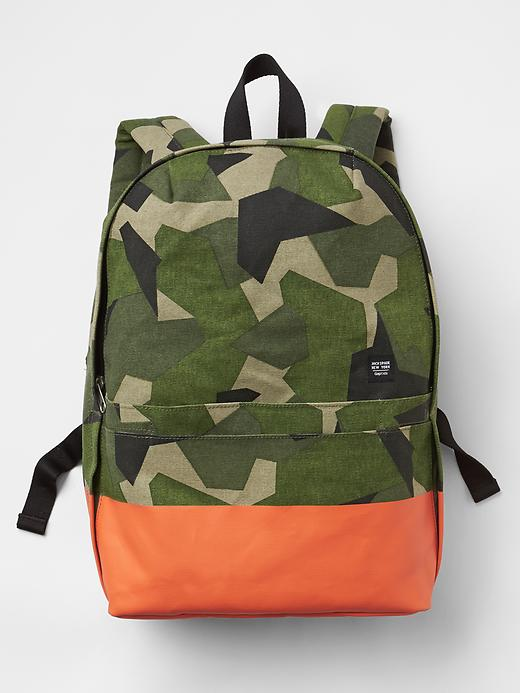 Gap JACK SPADE &Hearts; Gapkids Camo Backpack Size One Size - camo