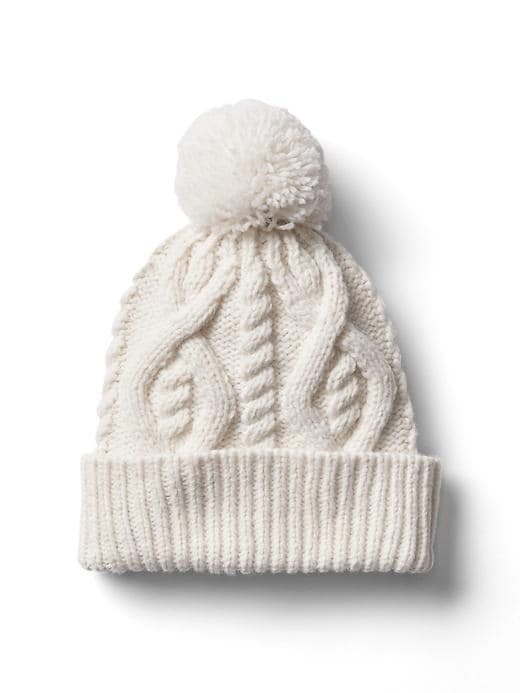 Where to Find Your Winter Cable Knits; Gap hat
