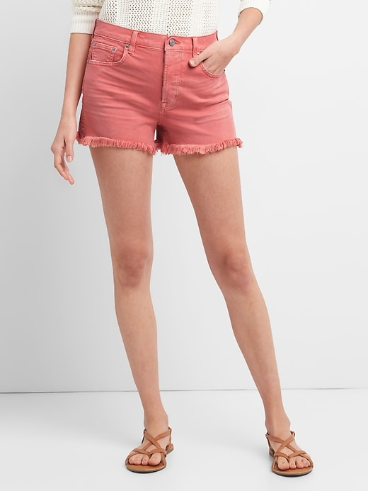 gap-colored-denim-shorts
