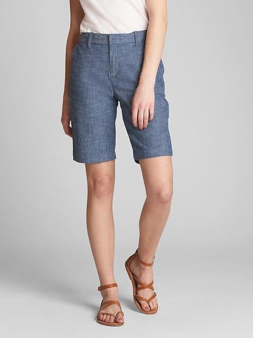 gap-bermuda-shorts-stretch