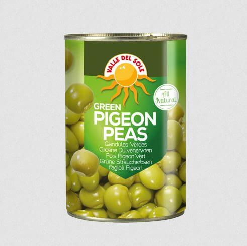 Green Pigeon Peas 425 gr Valle Del Sole 425g