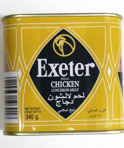 exeter chicken luncheon meat 340g