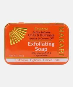 MAKARI Extreme Argan & Carrot Oil Exfoliating Soap 200g