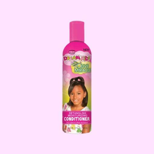 African Pride Dream Kids Olive Miracle Detangling Moisturizing Conditioner 355ml