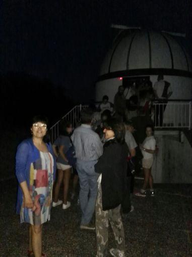 La fila per i telescopi
