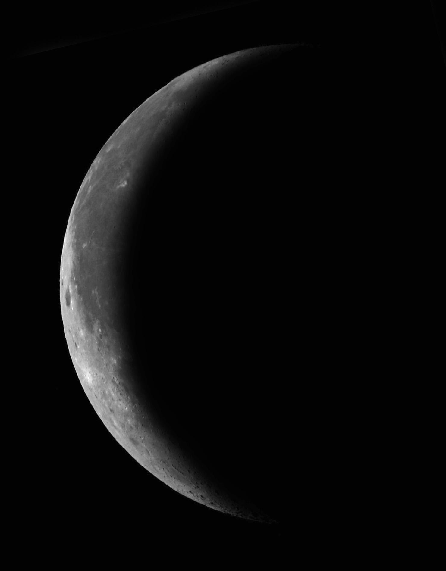 Spicchio di luna calante