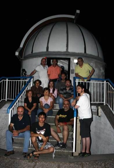 Foto di gruppo alle 5:00