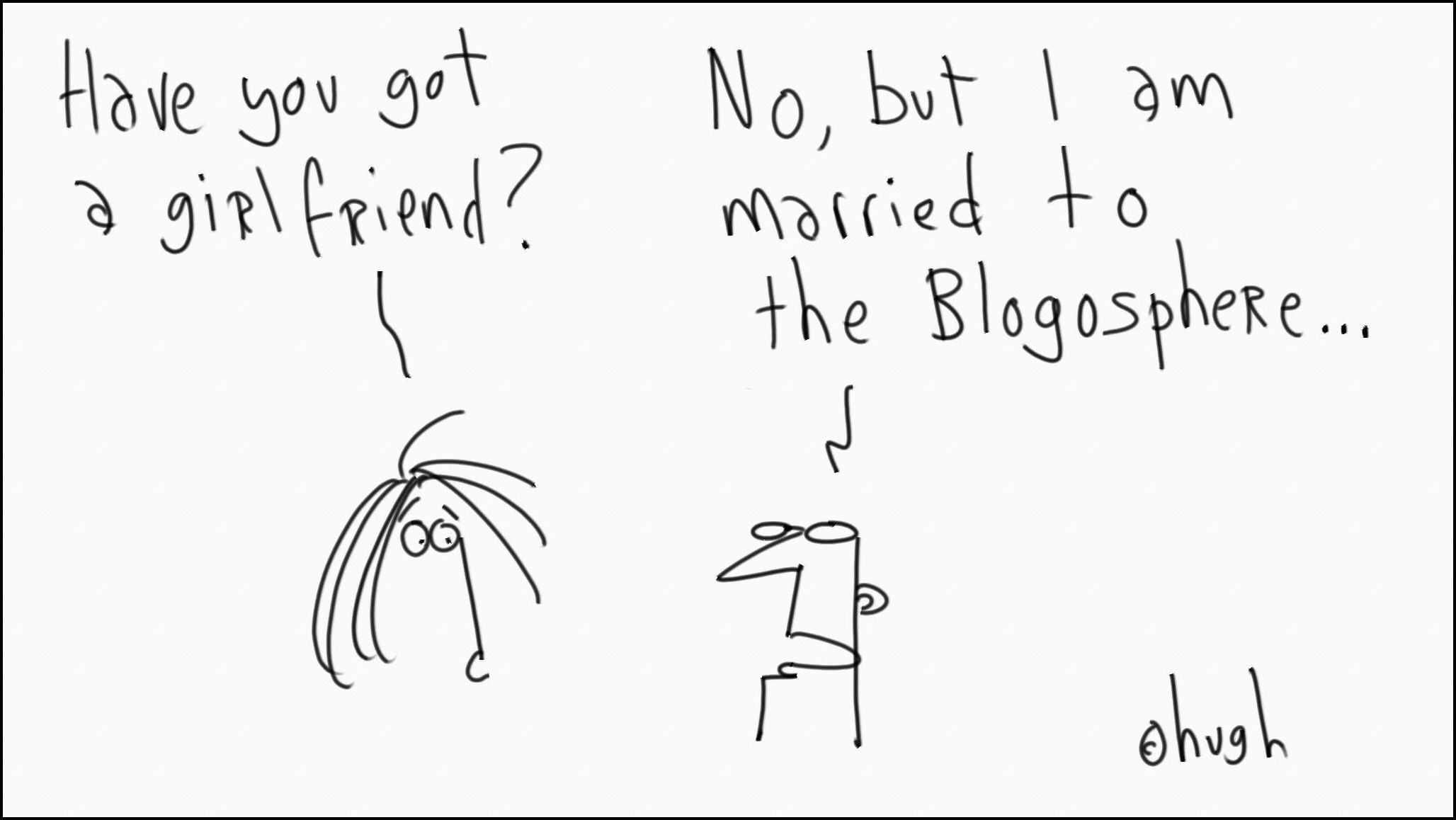 Dating in the blogosphere