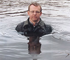 TEDS star Hans Rosling, not in over his head.