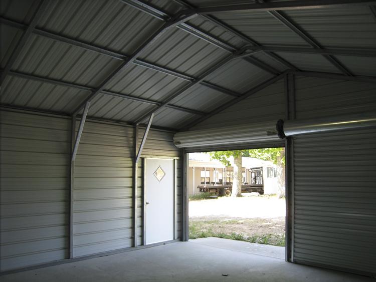 See Inside A Metal Garage (1/2)