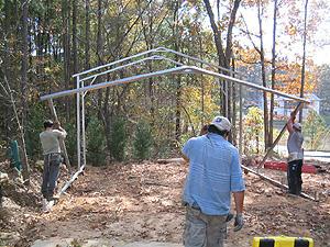 carport construction steps