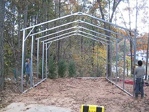 How to Build a Carport Step By Step (4/6)