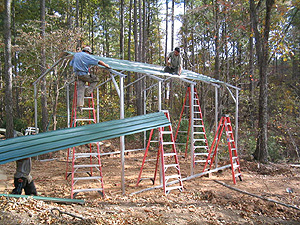 How to Build a Carport Step By Step (5/6)