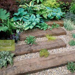 Railway Sleeper Gravel Gardens | Gardening: Flower and Vegetables