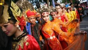 Foto ilustrasi: Kemeriahan Festival Budaya Medan. (ist)