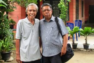Foto: Damiri Mahmud dan Tatan Daniel (ist)