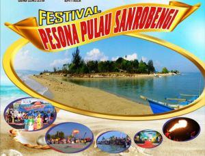 Foto:Festival Pesona Pulau Sanrobengi. (ist)