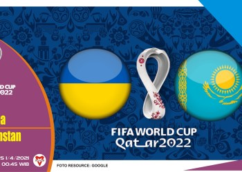 Prediksi Pertandingan Ukraina vs Kazakhstan - 1 April 2021