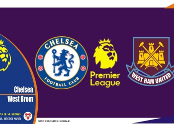 Prediksi Liga Inggris: Chelsea vs West Bromwich - 3 April 2021