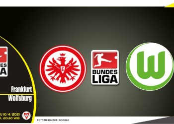 Prediksi Liga Jerman: Eintracht Frankfurt vs Wolfsburg - 10 April 2021