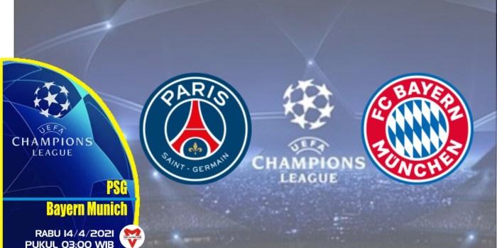 Prediksi Liga Champions: PSG vs Bayern Munich - 14 April 2021