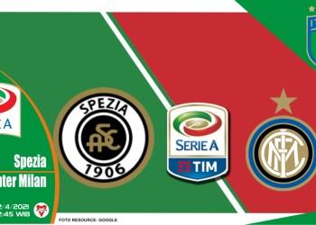 Prediksi Liga Italia: Spezia vs Inter Milan - 22 April 2021
