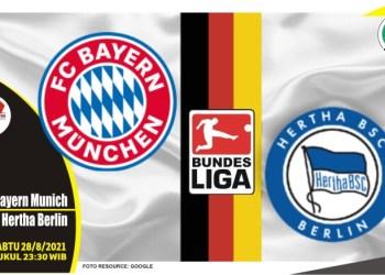 Prediksi Bayern Munich vs Hertha Berlin - Liga Jerman 28 Agustus 2021