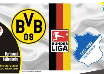 Prediksi Dortmund vs Hoffenheim - Liga Jerman 28 Agustus 2021