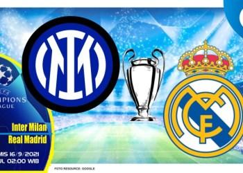 Prediksi Inter Milan vs Real Madrid - Liga Champions 16 September 2021