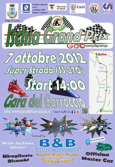 2012 Locandina Ischia Grand Prix