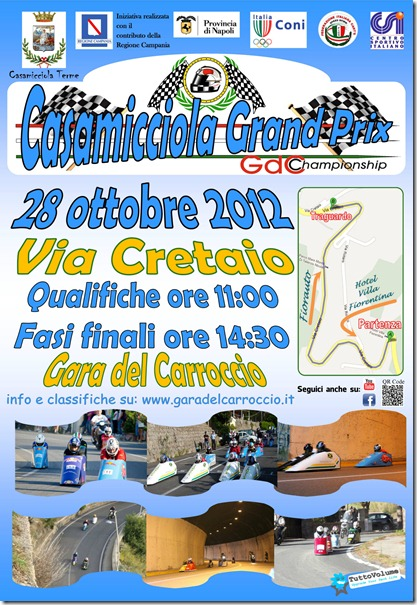 2012 Locandina Casamicciola Grand Prix2