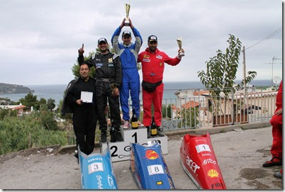 Podio Casamicciola Grand Prix 2012
