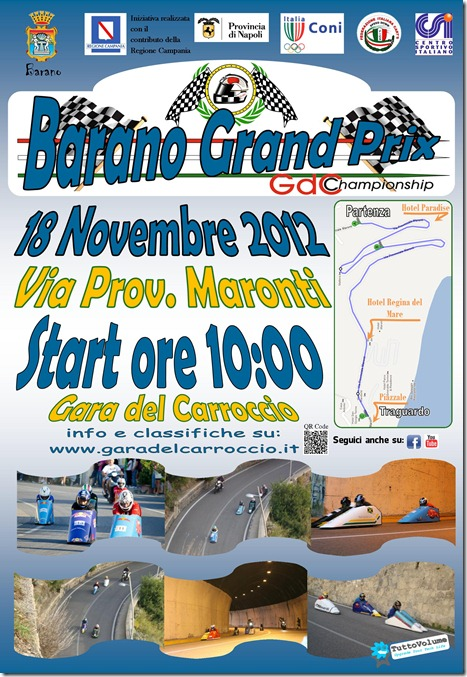 2012 Locandina Barano Grand Prix