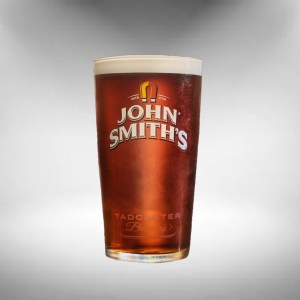 John Smiths Beer Glass