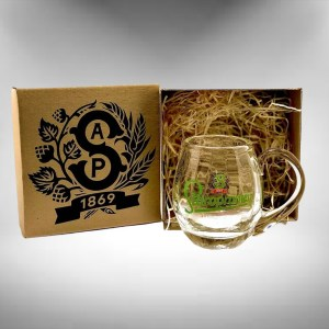 Staropramen Tankard Beer Glass Gift Boxed