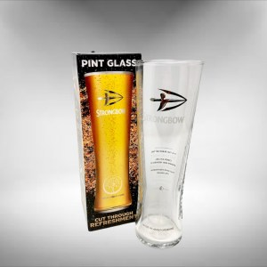 Strongbow Cider Glass Gift Boxed