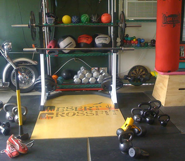 Building the garage gym mission capable