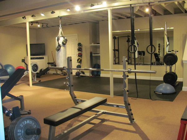 Home Gym Design: Inspirational Garage Gyms & Ideas Gallery Pg 6