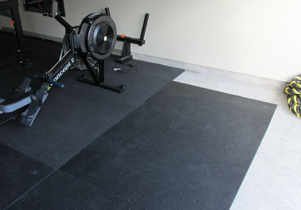 Working With Amp Securing Stall Mats In A Garage Gym