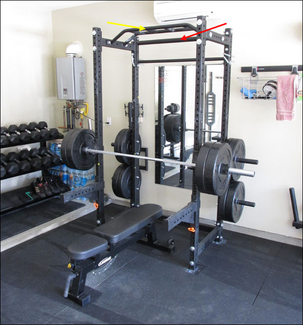 Garage gym design ideas this is a nice shed garage gym power rack
