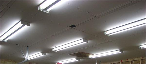 dark garage gym brighten it up with