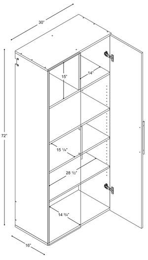 Dimensions Metal Locker