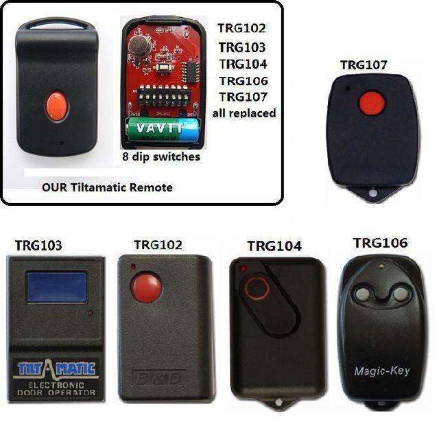 Garage Door Opener Remote Dip Switch Dandk Organizer