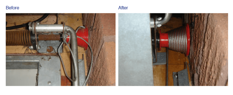 snapped cable repair fast garage door repairs on Garage Cable Snapped id=82218