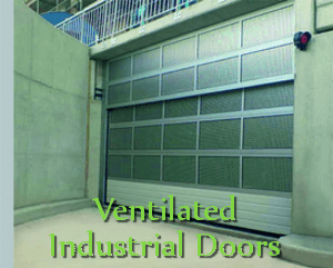 Ventilated Industrial Doors