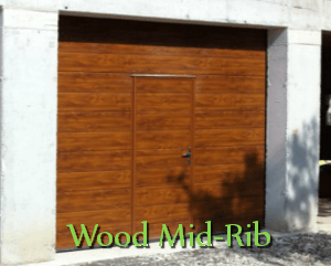 Wood Mid-Rib Panels Doors