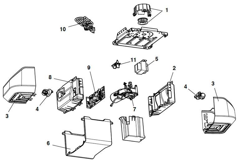LiftMaster 8550W Garage Door Opener Parts