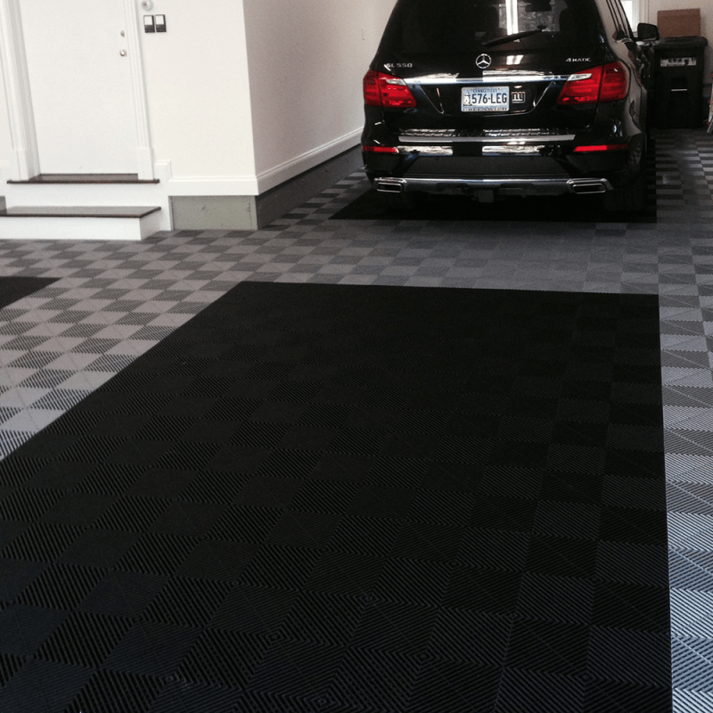 TrueLock Plus Ribbed Garage Floor Tile